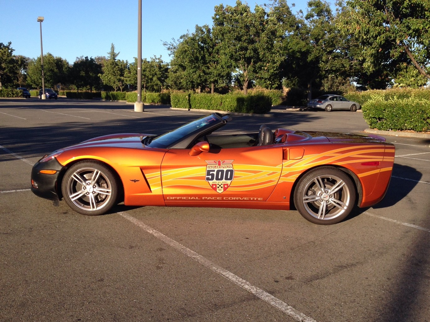 Tom's 2007 Indy Pace Car Replica Convertible